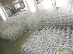電鍍鐵桁架/展覽展示架/溫州萬科展位製作與搭建