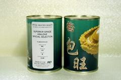 包旺牌 (非洲罐頭鮑) 8頭 (425克)