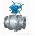 Q347F蝸輪固定式球閥 1