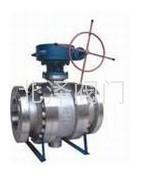 Q347F/H蝸輪傳動固定式球閥