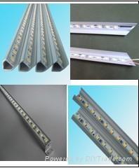 供應高亮度LED燈,5050貼片珠寶櫃台硬燈條