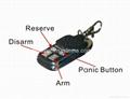 Smoke detector security wireless alarm system control panel 3