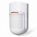 Smoke detector security wireless alarm system control panel 4