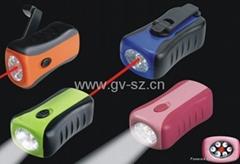Dynamo Flashlight and Laser light