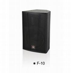 SAMON三木音响F-10 10寸专业音箱
