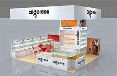 雲南昆明手機展示櫃台