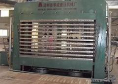 胶合板生产成套设备-HCN-500T多层框架式热压机