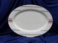 ceramic oval plate