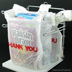 Wholesale virgin HDPE or LDPE t shirt bags for supermarket