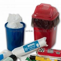 wholesale plastic garbage bag on roll