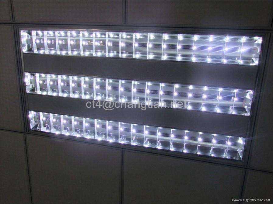 48w Led Grid Light Recessed Light Ceiling Light Office Lighting