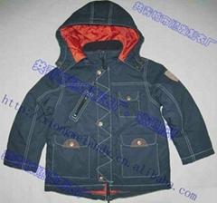 children's cotton coats