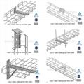 抗震不鏽鋼網格橋架