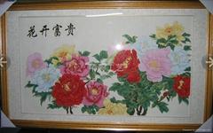 景泰藍工藝畫
