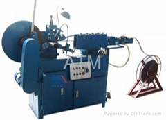 Spiral corrugated duct machine