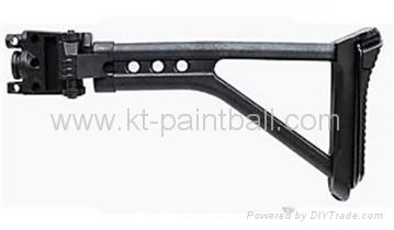 A5&MILSIG Plastic Folding Stock - KT Paintball - Tippmann ...