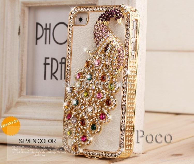 Top level luxury designer for iphone 4 4s bling diamond for Mobel luxus designer