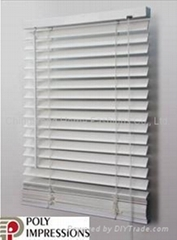 POLY IMPRESSIONS-PVC Faux wood Blind