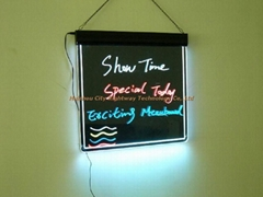 Multi Color Neon Effects LED Message