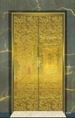 供應不鏽鋼金碧輝煌電梯門板
