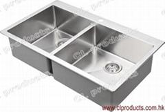 BT86D Overmount Kitchen Sink