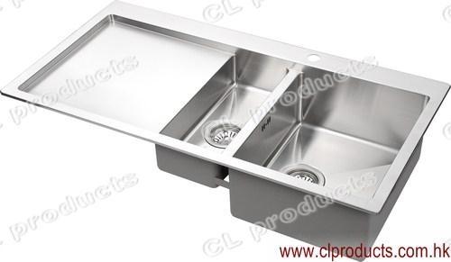 Bt100dp Overmount Kitchen Sink With Drainboard Cl