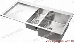 BT100DP Overmount Kitchen Sink With Drainboard