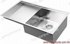 CU84SP Undermount Kitchen Sink With Panel