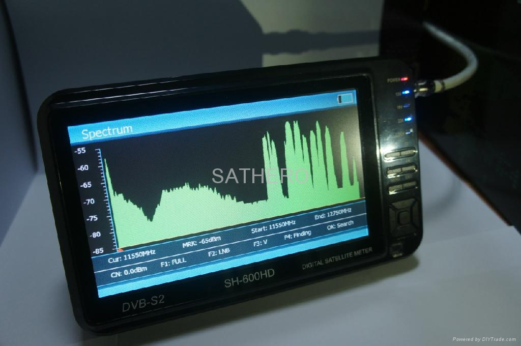 Sathero Sh 600hd Spectrum Analyzer Dvb S2 Sat Finder Hd