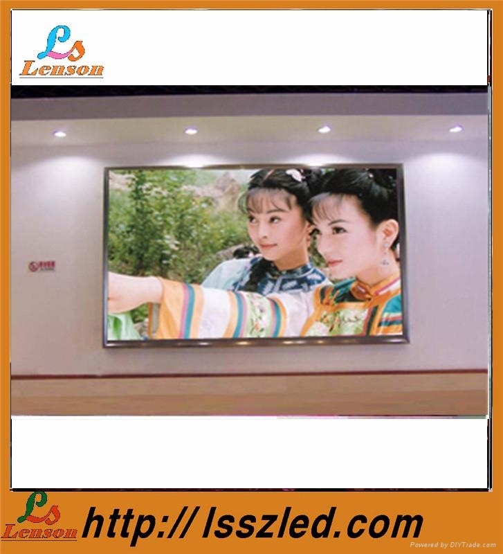 p4 indoor full color led curtain display 1