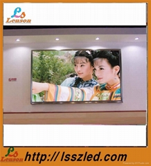 p4 indoor full color led curtain display