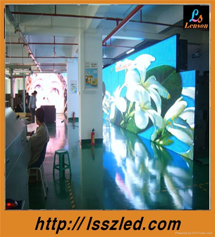 p4 indoor full color led curtain display 5