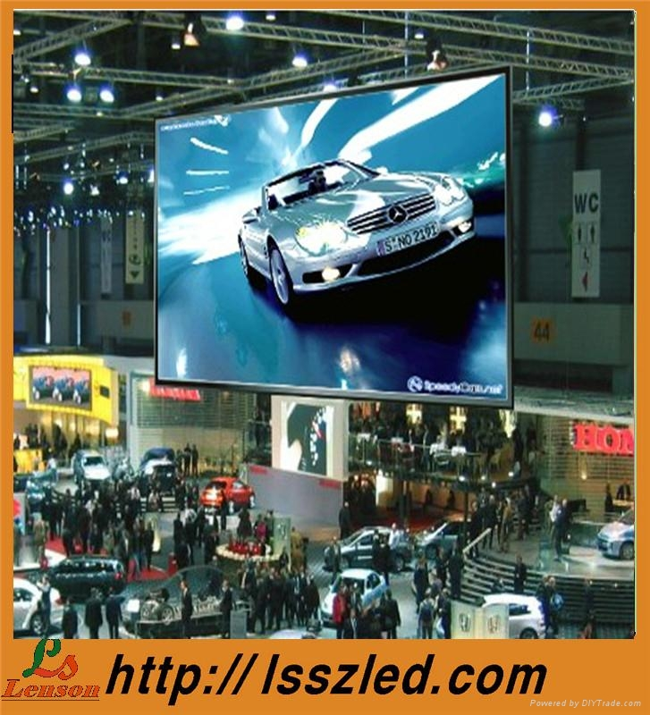 P7.62 indoor full color led flexible display 1