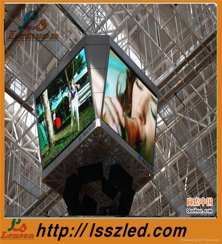 P7.62 indoor full color led flexible display 3