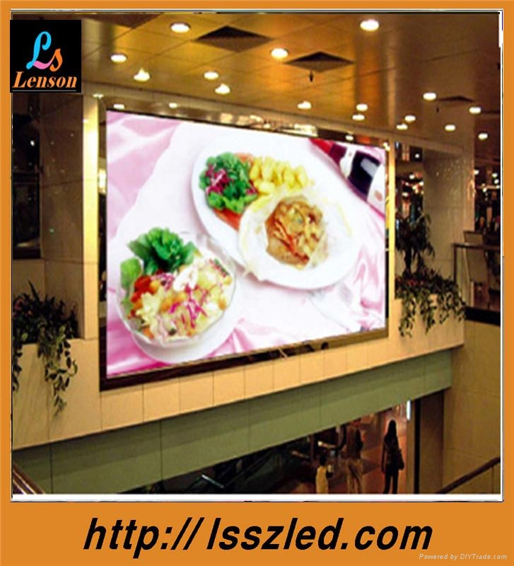 led commercial advertising display screen p10 indoor full color 4