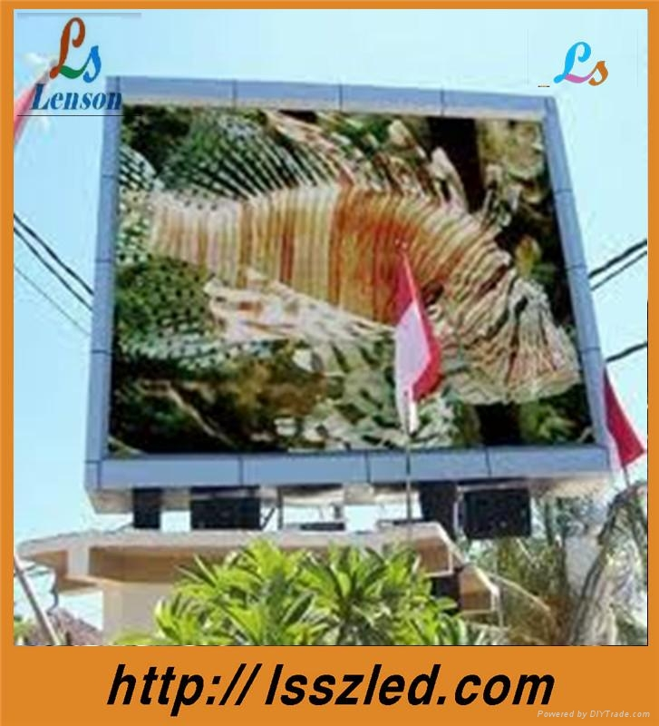 p16 outdoor led display screen full color   2