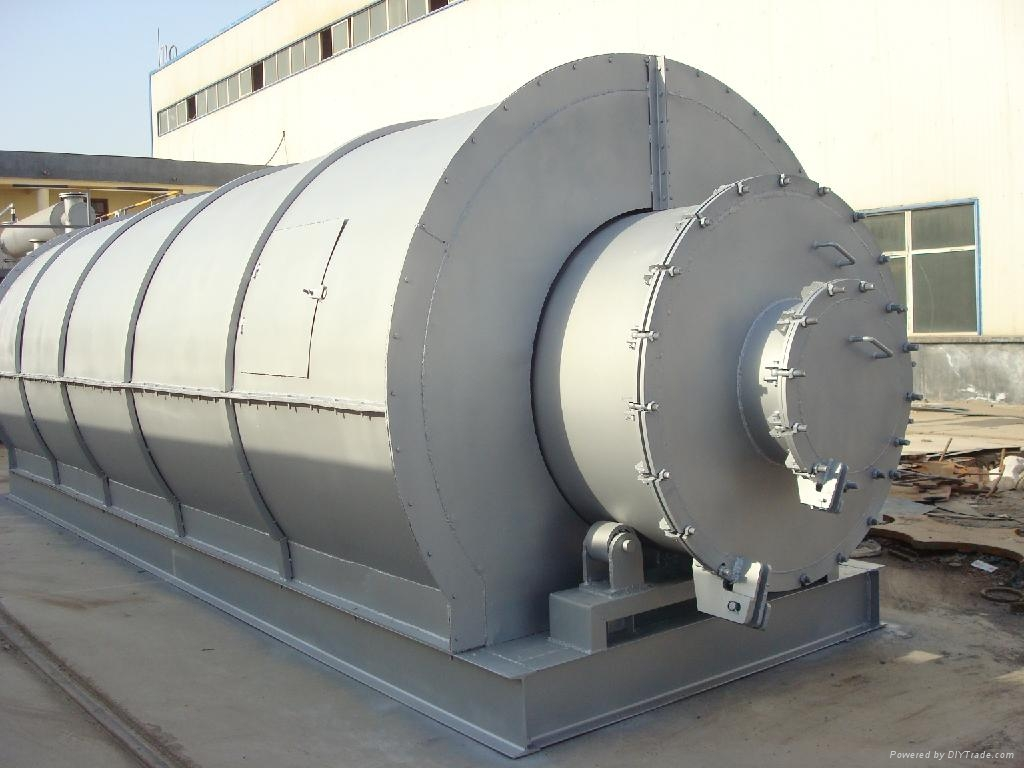 Waste Tire Pyrolysis Plant Doing China Manufacturer