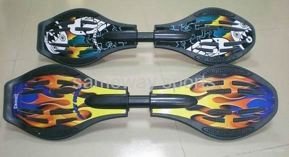Sameway flame snakeboard XW-LYB-088  1