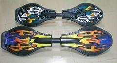 Sameway flame snakeboard XW-LYB-088
