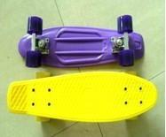 Fish skateboard/plastic skateboard
