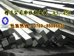 精選廠家批發A3冷拉光扁鐵