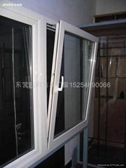 断桥铝隔热防暴门窗