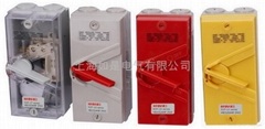 Clipsal paragraph WHD / WHT waterproof isolating switch