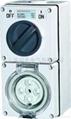 Clipsal waterproof combination switch socket shall 56CV 1