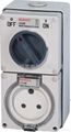 Clipsal waterproof combination switch socket shall 56CV 2
