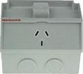 Clipsal switch socket shall WSC227