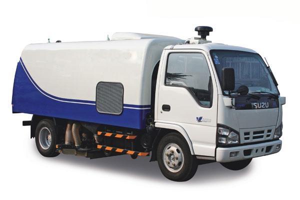 yihong road sweeper yhj5065 street sweeper trucks