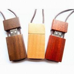 bamboo USB Flash driver