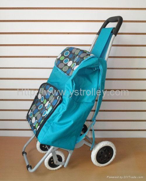 411ab92325d1 4 Wheel folding shopping trolley - YS-ST700B - YS (China ...