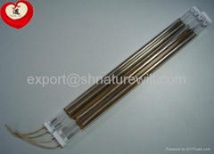 gold coated infrared heating lamp tubes